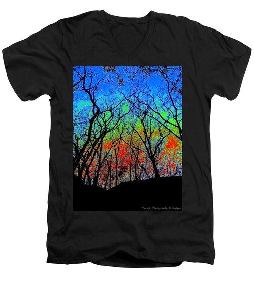 Strange Wanderings Men's V-Neck T-Shirt