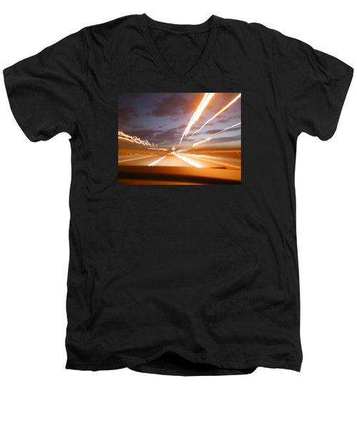 Street Men's V-Neck T-Shirt