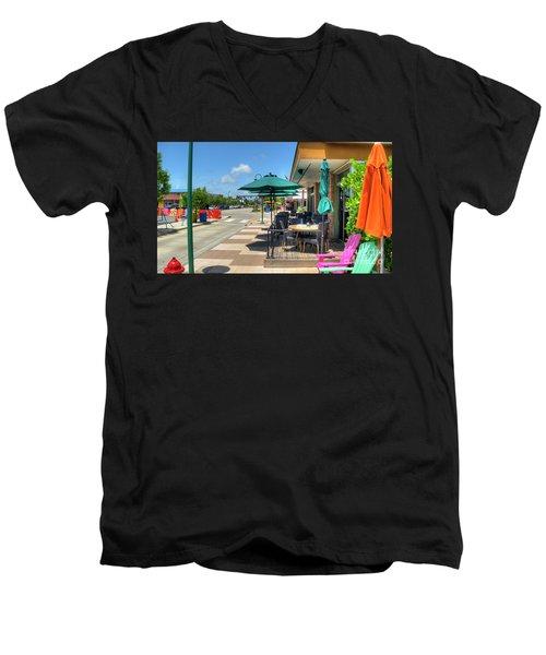 Streetside Dining Men's V-Neck T-Shirt