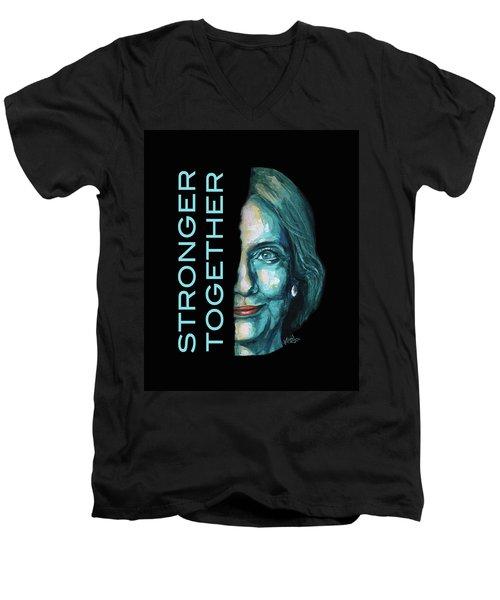 Stronger Together Men's V-Neck T-Shirt