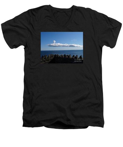 Submarine Cloud Men's V-Neck T-Shirt