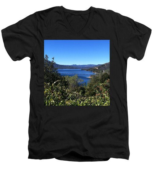 Such A Beautiful Fall Day In Men's V-Neck T-Shirt