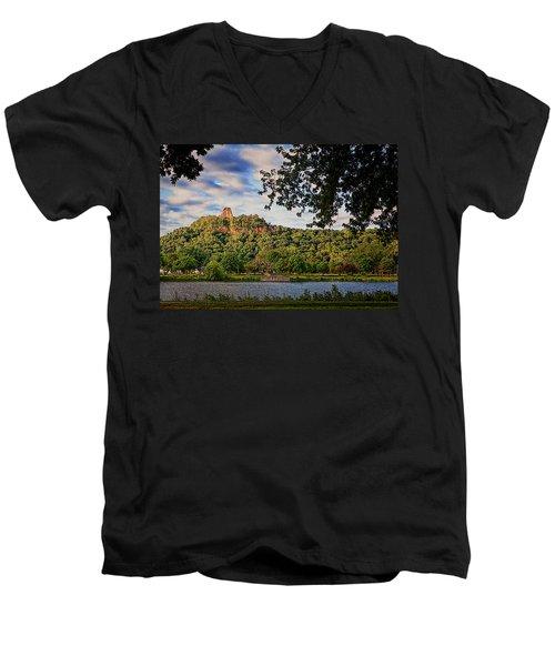 Sugarloaf II Men's V-Neck T-Shirt