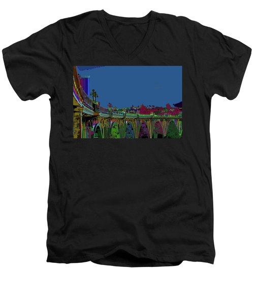 Suicide Bridge 2017 Let Us Hope To Find Hope Men's V-Neck T-Shirt