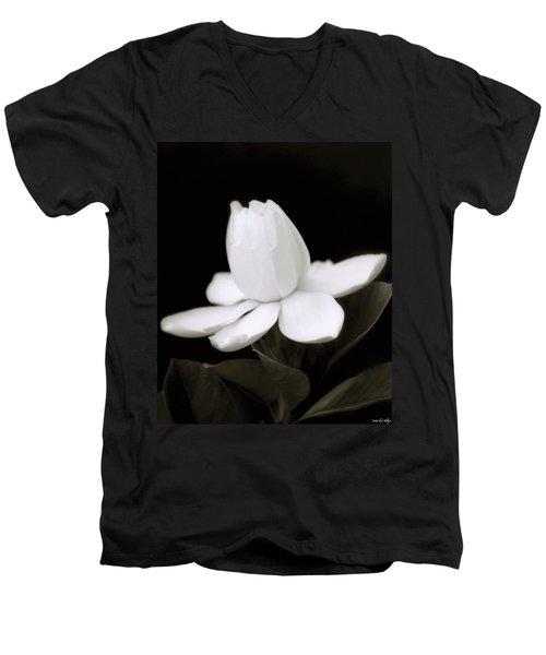 Summer Fragrance Men's V-Neck T-Shirt by Holly Kempe