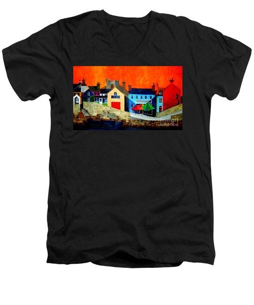 The Bulman, Summercove, West Cork Men's V-Neck T-Shirt
