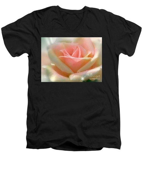Sun Blush Men's V-Neck T-Shirt