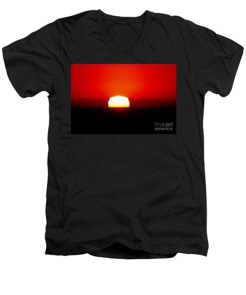 Sun Dipping Men's V-Neck T-Shirt