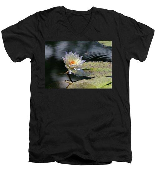 Sun Kissed Allure Men's V-Neck T-Shirt by Yvonne Wright