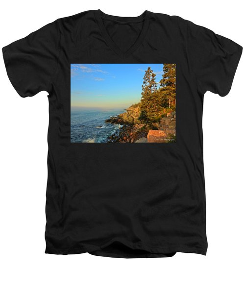 Sun-kissed Coast Men's V-Neck T-Shirt