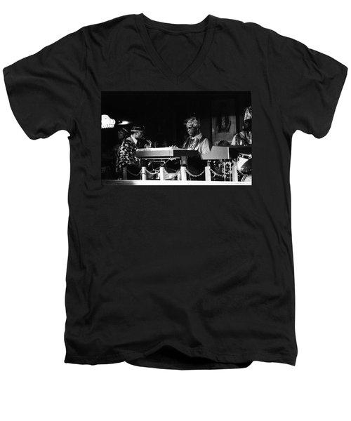 Sun Ra Arkestra At The Red Garter 1970 Nyc 31 Men's V-Neck T-Shirt