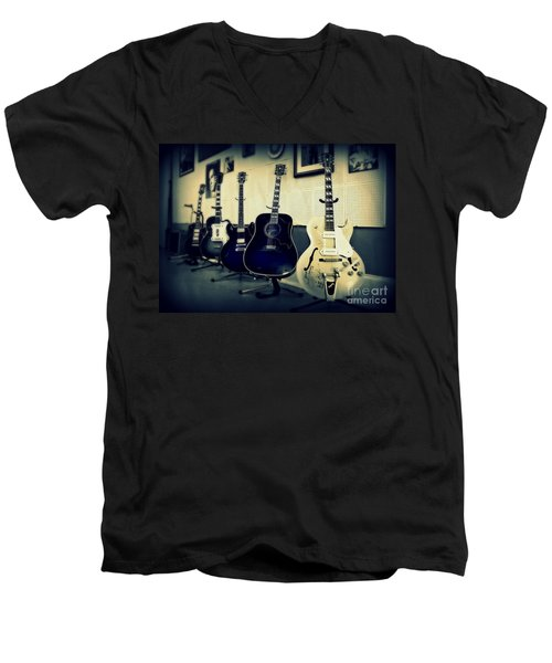 Sun Studio Classics Men's V-Neck T-Shirt by Perry Webster