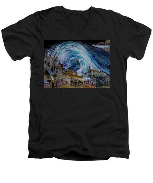 Sunami  Men's V-Neck T-Shirt