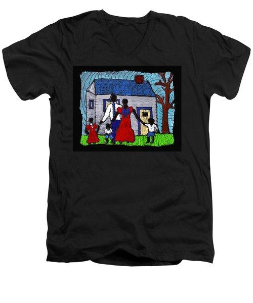Sunday Morning Finest Men's V-Neck T-Shirt