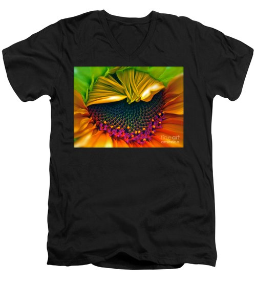 Sunflower Smoothie Men's V-Neck T-Shirt