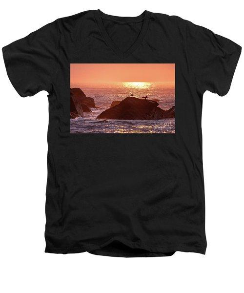 Sunrise, South Shore Men's V-Neck T-Shirt