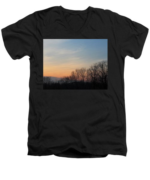 Fall Sunset Men's V-Neck T-Shirt
