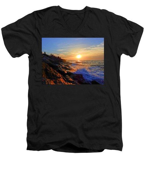 Sunrise Surf Men's V-Neck T-Shirt