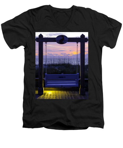 Sunrise Swing  Men's V-Neck T-Shirt