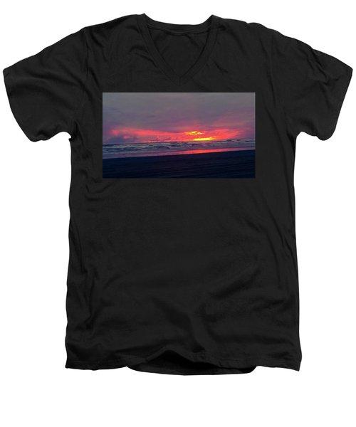 Sunset #1 Men's V-Neck T-Shirt