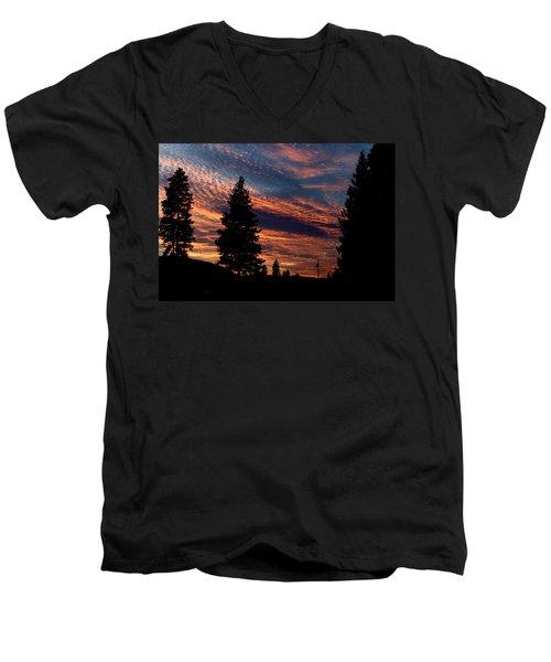 Sunset 2 Men's V-Neck T-Shirt