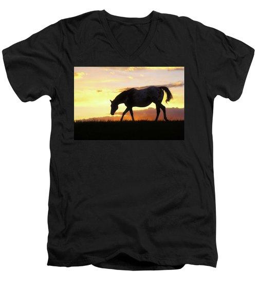 Sunset Appy Men's V-Neck T-Shirt
