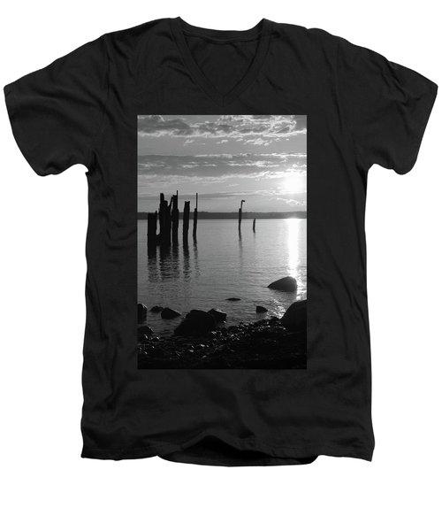Sunset Beach Men's V-Neck T-Shirt