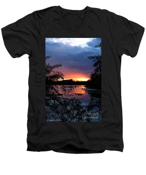 Sunset Cove Men's V-Neck T-Shirt