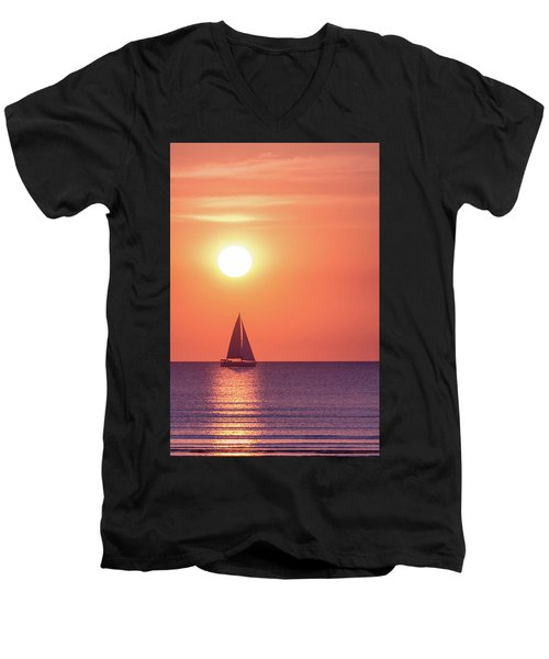 Sunset Dreams Men's V-Neck T-Shirt