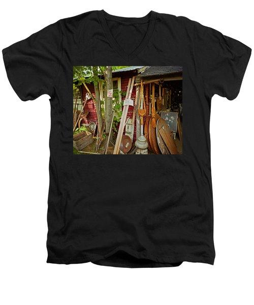 Sunset Jungle Antiques Men's V-Neck T-Shirt