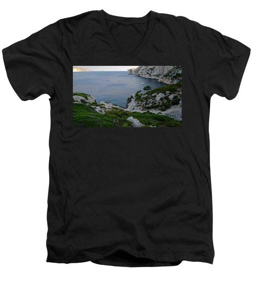 Sunset Repose Men's V-Neck T-Shirt