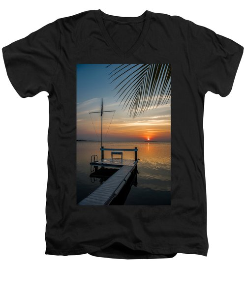 Sunset Villa Men's V-Neck T-Shirt