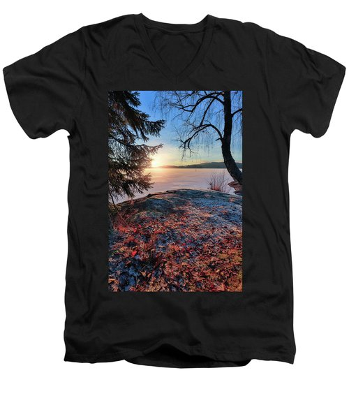 Sunsets Creates Magic Men's V-Neck T-Shirt