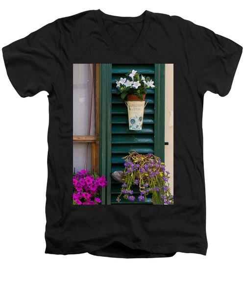 Sunshine A Stem Men's V-Neck T-Shirt