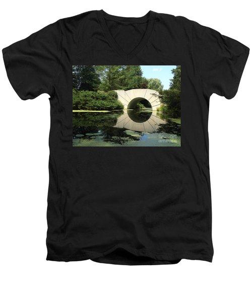 Sunshine Bridge 5 Men's V-Neck T-Shirt