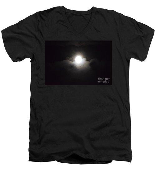 Super Moon 1 Men's V-Neck T-Shirt