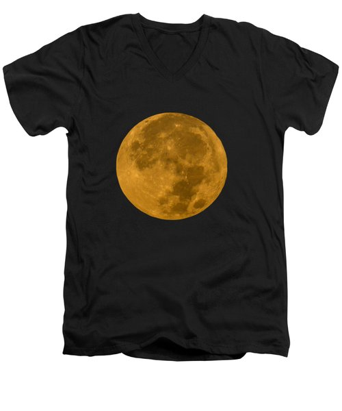 Super Moon Monday Men's V-Neck T-Shirt