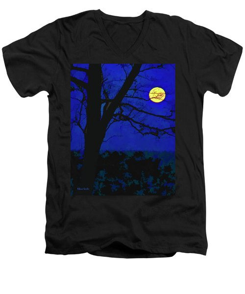 Super Moon Men's V-Neck T-Shirt