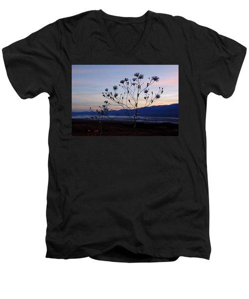 Superbloom Sunset In Death Valley 102 Men's V-Neck T-Shirt