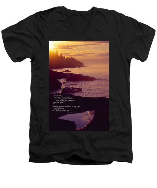 Superior Sunrise Men's V-Neck T-Shirt
