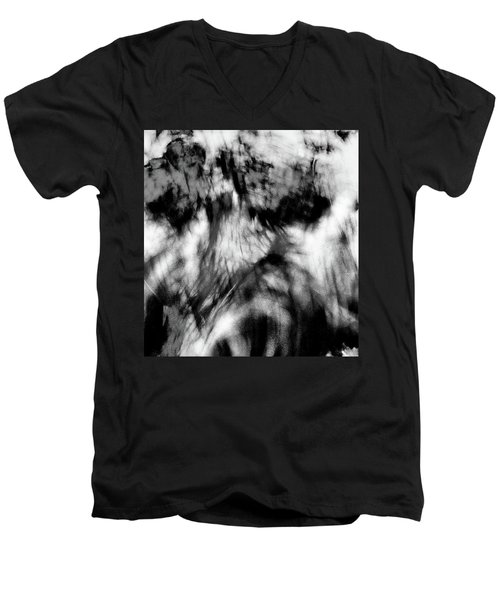 Surreal Rooster Feathers Men's V-Neck T-Shirt