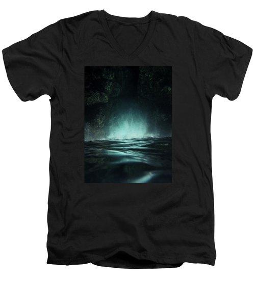 Surreal Sea Men's V-Neck T-Shirt by Nicklas Gustafsson