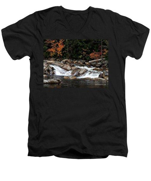 Swift River Falls Men's V-Neck T-Shirt
