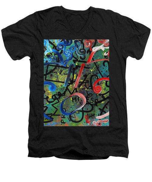 Sympathy Symphony Men's V-Neck T-Shirt