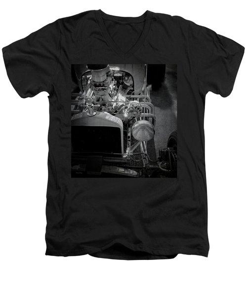 T Bucket Men's V-Neck T-Shirt