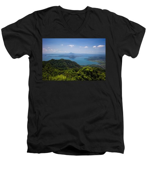 Tagaytay Ridge, Philippines Men's V-Neck T-Shirt
