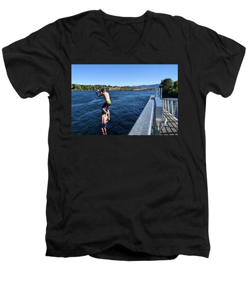 Take Our Picture 3 Men's V-Neck T-Shirt