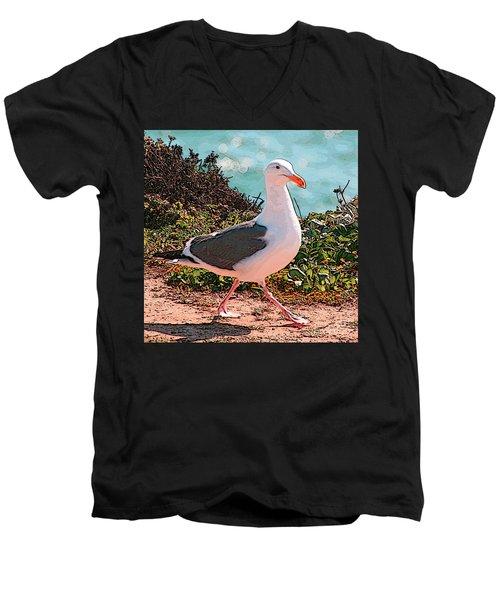 Taking A Stroll Men's V-Neck T-Shirt