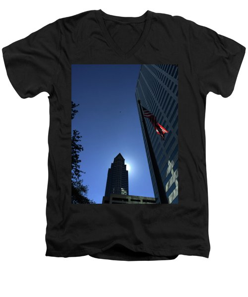 Tampa At Noon On A Monday Men's V-Neck T-Shirt