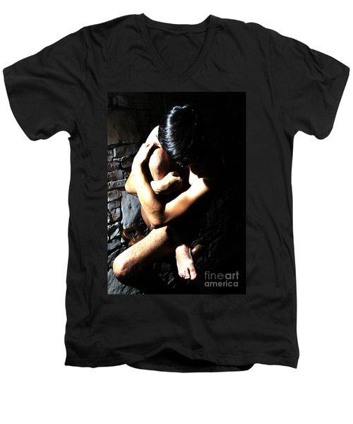 Tangled Men's V-Neck T-Shirt